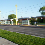 Enphase microinverters energize UTA Airport TRAX Station at 1940 W. North Temple (Photo: Business Wire)