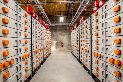 Portland General Electric's Salem Smart Power Center includes a large-scale energy storage system. ( ...