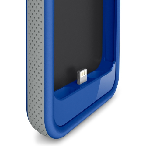 The powerful 2000 mAh battery capacity of the Grip Power Battery Case doubles the iPhone 5's battery life (Photo: Business Wire)