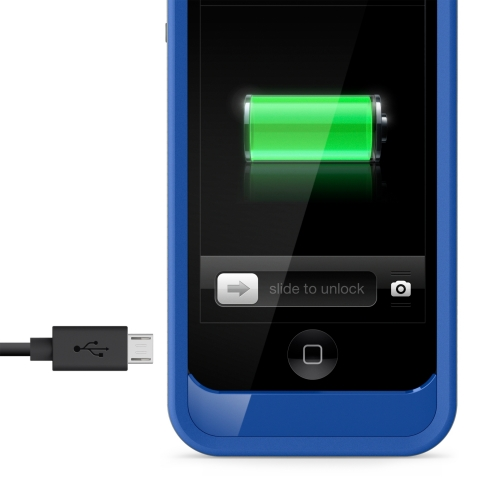 Grip Power Battery Case is available in a range of color combinations and incorporates a grip bumper design to offer extra protection for the iPhone (Photo: Business Wire)