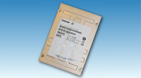 Toshiba 1.6TB / 2.5type enterprise SSD (Photo: Business Wire)