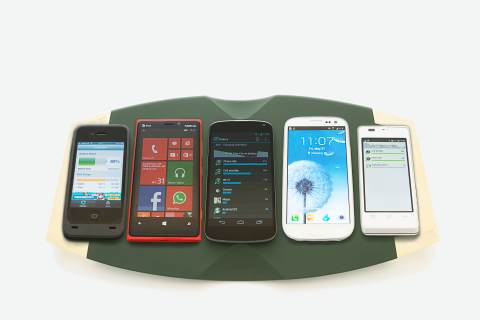 ConvenientPower WoW5 Simultaneously Charging Five Smartphones (Photo: Business Wire)