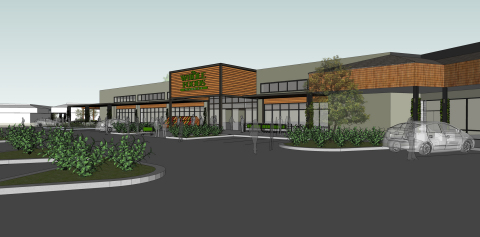 Greenway Tow Center Redevelopment Rendering (Photo: Business Wire)