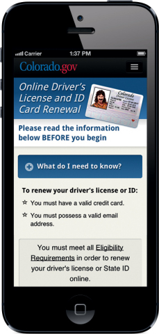 Adding Multimedia Colorado Division Of Motor Vehicles Unveils New Mobile App For Updated Online