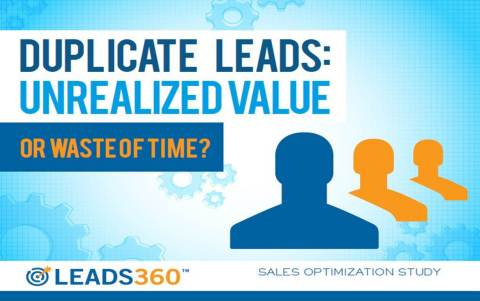 New Leads360 study identifies several characteristics of duplicate leads that indicate a higher likelihood of conversion than average. (Graphic: Business Wire)