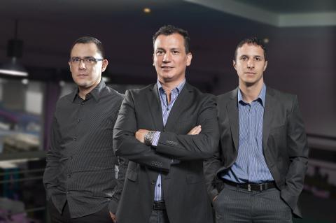 CM LatAm leadership team (left to right): Enrique Ottone, Jaime Escobar, Miguel Alvarez (Photo: Busi ...