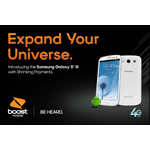 Boost Mobile Pairs the Speed of 4G LTE and Shrinking Payments with Award-Winning Samsung Galaxy S III Available June 12 (Graphic: Boost Mobile)
