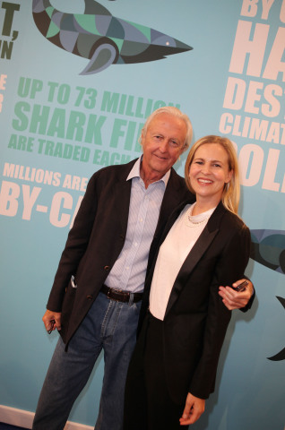 Galen Weston and Alannah Weston at the launch of Selfridges Project Ocean 'Save Our Sharks' campaign (Photo: Business Wire)