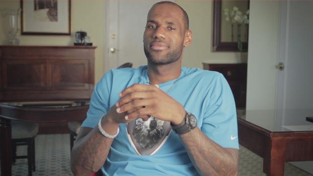 NBA 2K14 LeBron Announcement