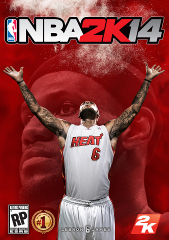 NBA 2K14 from 2K Sports to feature LeBron James as its cover athlete. (Graphic: Business Wire)