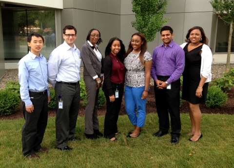 Students and new graduates of Delaware State University start a summer internship program at Sallie Mae's headquarters in Newark. (Photo: Business Wire)
