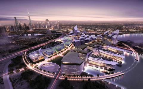 Dubai Design District (Graphic: Business Wire)