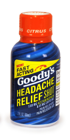 Goody's Headache Relief Shot Citrus Flavor (Photo: Business Wire)