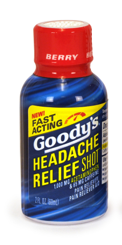 Goody's Headache Relief Shot Berry Flavor (Photo: Business Wire)