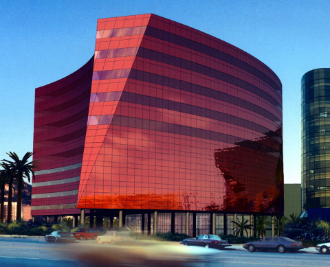 Alliance for Quality Construction's 2013 Q Award recipient RedBuilding at the Pacific Design Center, ...