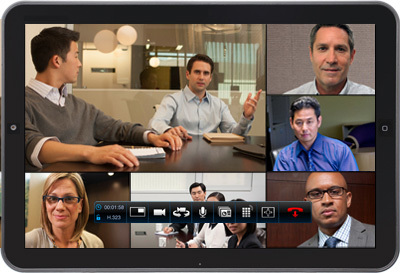 Available for more than a dozen devices, Polycom RealPresence Mobile software app lets customers sec ...