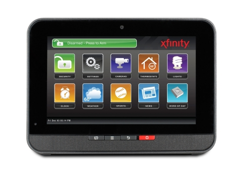 Xfinity Home Control is for customers who want smart home solutions like video monitoring and the ability to either schedule or remotely access lighting and thermostat controls, but do not choose the professional security monitoring that is offered with other Xfinity Home services, which are now called Xfinity Home Secure. (Photo: Comcast Corporation)