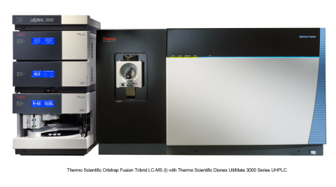 Thermo Scientific Orbitrap Fusion LC-MS with Thermo Scientific Dionex UltiMate 3000 Series UHPLC, one of many innovations announced today at ASMS 2013. (Photo: Business Wire)