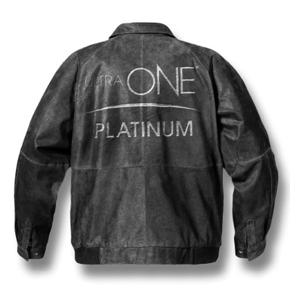The UltraONE Ultimate Platinum Leather Jacket. (Photo: Business Wire)