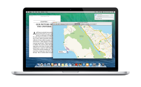 Apple introduces OS X Mavericks with more than 200 new features. (Photo: Business Wire)