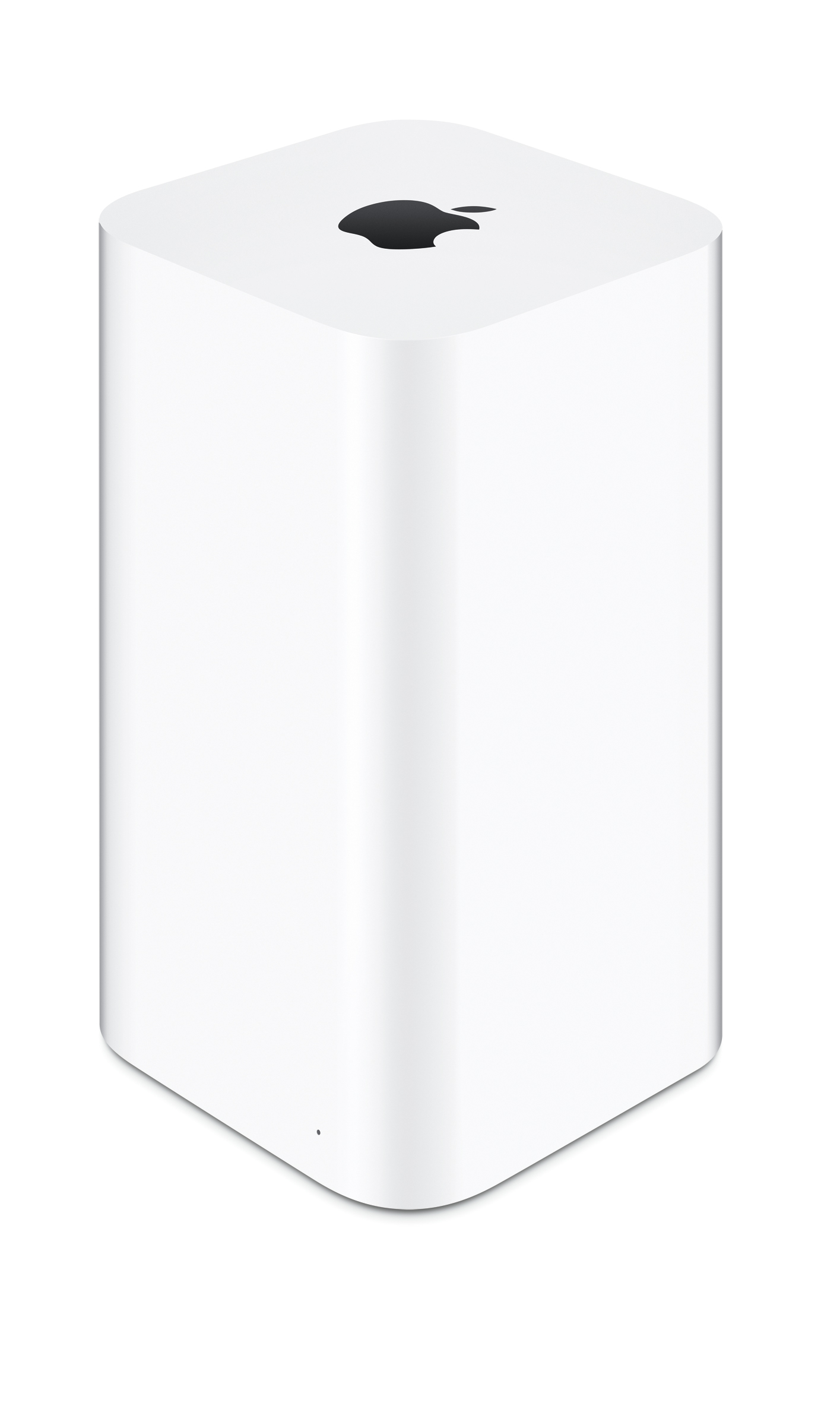 The redesigned AirPort Extreme and AirPort Time Capsule base stations feature 802.11ac Wi-Fi for up to three times faster performance. (Photo: Business Wire)