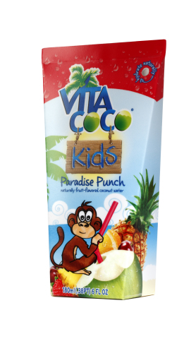 The new Vita Coco Kids beverages bring the nutritious hydration of coconut water to the children's beverage aisle. (Photo: Business Wire)