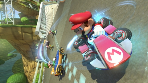 Mario Kart 8 Screenshot (Photo: Business Wire)