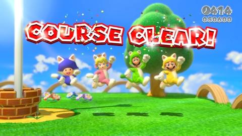 Super Mario 3D World Screenshot (Photo: Business Wire)