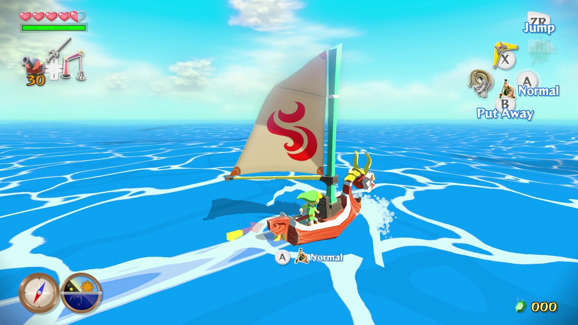 The Legend of Zelda: The Wind Waker HD Screenshot (Photo: Business Wire)