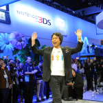 In this photo provided by Nintendo of America, famed video game designer Shigeru Miyamoto is welcomed on stage by attendees at the Wii U Software Showcase @ E3 2013 on June 11, 2013 in Los Angeles. The Electronic Entertainment Expo (E3) is the video game industry's premier trade show. (Photo: Business Wire)