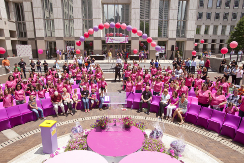 Procter & Gamble and Pantene host third Pantene Beautiful Lengths hair donation event on June 10, 20 ...