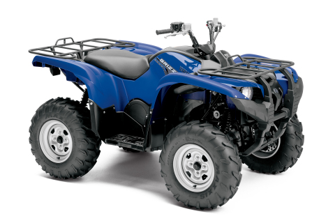 Yamaha's new Grizzly 700 FI EPS with improved comfort and new engine settings is assembled exclusively in the USA for worldwide distribution. (Photo: Business Wire)