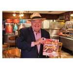 """Mr. Dickey will be at Dickey's in Tuscaloosa and will be handing out 100 copies of his new book """"Mr. Dickey's Barbecue Cookbook."""" (Photo: Business Wire)"""