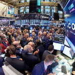 View of the trading floor as Coty Inc.'s IPO opens for trading on the New York Stock Exchange. (Photo: Business Wire)