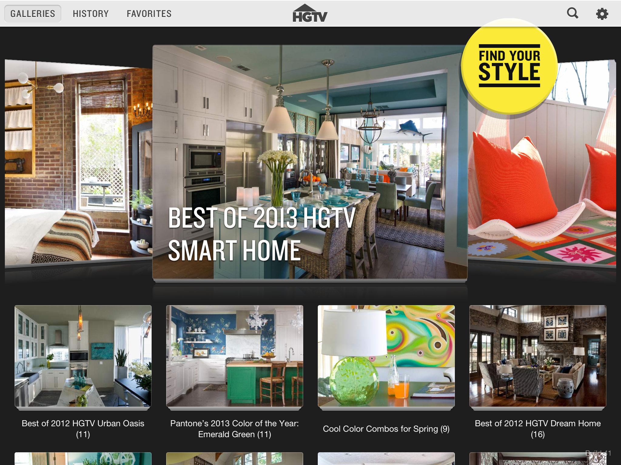 HGTV Offers Endless Home Decor Inspiration With Dreamy Free Design App Folio