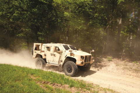 The Oshkosh JLTV solution, L-ATV, provides troops with next-generation light vehicle performance, al ...
