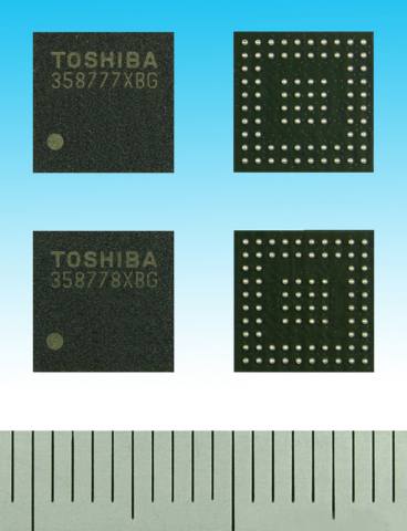 Toshiba Interface Bridge LSI for LCD Display (Photo: Business Wire)
