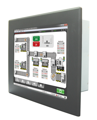 Flat Panel PCs, Intelligent Touch Panels with Windows Embedded 8 Supports (Photo: Business Wire)