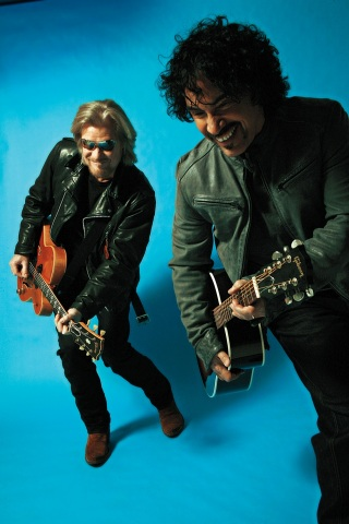 Number one selling duo in music, Daryl Hall & John Oates, will perform at The Life is good Festival on Sept. 21 at Prowse Farm, Canton, Mass., to raise more than $1 million for kids in need. Tickets are on sale now and can be purchased online at Lifeisgood.com/Festival. (Photo credit: Mick Rock)