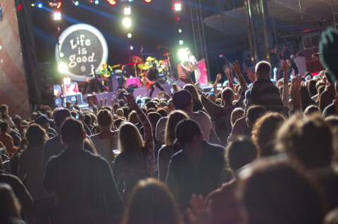 The Life is good Festival, Sept. 21-22 at Prowse Farm, Canton, Mass., will bring together an all-star musical lineup to raise funds for kids in need through The Life is good Kids Foundation. Tickets are on sale now and can be purchased online at Lifeisgood.com/Festival. (Photo credit: Kileen McGowan)