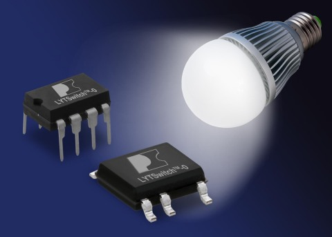 LYTSwitch-0 Family of Highly Integrated LED-Driver ICs for Low-Power LED Bulbs (Photo: Business Wire ...