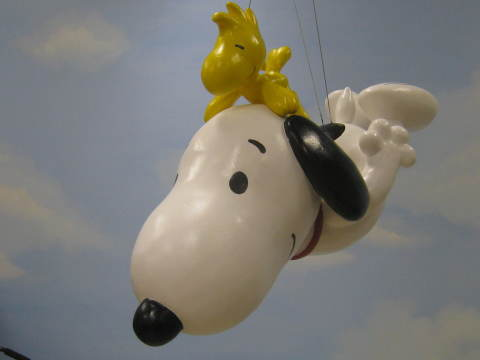 Snoopy returns to the Macy's Thanksgiving Day Parade this November marking a record 37th flight in t ...