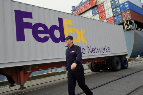 FedEx Trade Networks Truck (Photo: Business Wire)