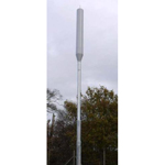 The monopole version of CommScope's Metro Cell Concealment Solutions can be mounted as a standalone structure on city streets or in traditional cell site locations. (Photo: Business Wire)