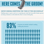 "David's Bridal Identifies the ""Rise of the Groomzilla"" (Graphic: Business Wire)"