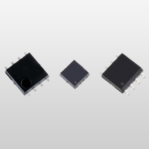 Toshiba 30V Voltage MOSFET (From left to right: SOP Advance, TSON Advance, and SOP-8 package)(Photo: ...