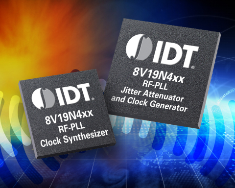 IDT Expands Industry-leading Timing Portfolio with Low-noise Timing Chipset for Wireless Base Station Radio Cards. (Graphic: Business Wire)