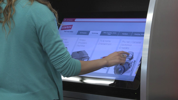 Staples' new omnichannel stores combine the power of the company's expansive retail network with the digital capabilities of the world's second largest internet retailer. (Video: Business Wire)