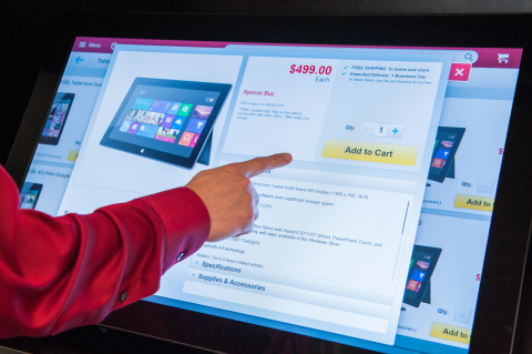Several new Staples.com kiosks in Staples' omnichannel stores provide customers with access to more ...