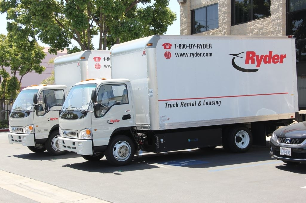 Ryder Takes Delivery Of First Light And Medium Duty
